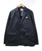 ()の古着「ツイルテーラードジャケット」|ネイビー