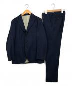 THE SUIT COMPANY(ザ・スーツカンパニー)の古着「3ピーススーツ」|ネイビー