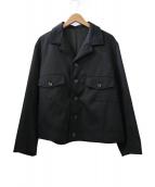 ()の古着「GABARDINE JACKET」|ブラック