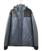THE NORTHFACE PURPLELABEL(ザノースフェイスパープルレーベル)の古着「Mountain Down Leather Jacket」|インディゴ