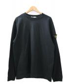 STONE ISLAND(ストーンアイランド)の古着「ロングスリーブスウェットシャツ」|ブラック