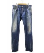 DSQUARED2(ディースクエアード)の古着「スリムフィットデニムパンツ」|インディゴ