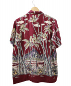 SOPHNET.(ソフネット)の古着「アロハシャツ」|ボルドー