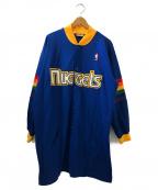 MITCHELL & NESS(ミッチェルアンドネス)の古着「[古着]オーバーサイズトラックジャケット」|ブルー