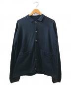 crepuscule()の古着「Knit Shirt」|ネイビー