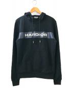 ()の古着「HARDIOR LOGO FOODIE」 ブラック