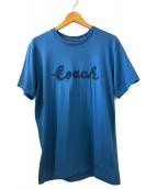 ()の古着「SCRIPT T-SHIRT」 ブルー