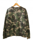 Hysteric Glamour()の古着「CR/BC CRAMPS総柄 SW」|カーキ