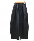 HARVESTY(ハーベスティー)の古着「COTTON CHINO CLOTH CIRCUS PANT」 ネイビー