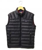 Patagonia()の古着「Down Sweater Vest」|パープル