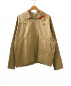 PHINGERIN(フィンガリン)の古着「ZIP RUN JACKET」|ベージュ