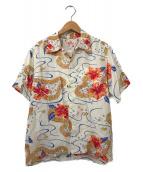()の古着「アロハシャツ」 ホワイト