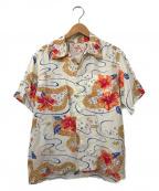 Sun Surf(サンサーフ)の古着「アロハシャツ」|ホワイト