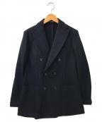ETONNE(エトネ)の古着「ダブルブレストジャケット」|ネイビー