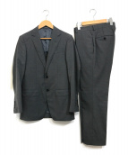TOMORROW LAND(トゥモローランド)の古着「トロピカルウール2ボタンスーツ」|グレー