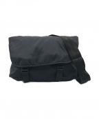 Herve Chapelier()の古着「ナイロンメッセンジャーバッグ」|ブラック