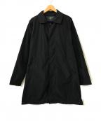 HYDROGEN(ハイドロゲン)の古着「ナイロンステンカラーコート」 ブラック