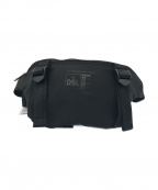 DIESEL(ディーゼル)の古着「リサイクルナイロンカラーブロックウエストポーチ」 ブラック