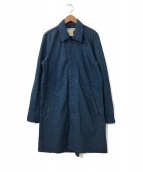 ()の古着「デニムショップコート」|インディゴ