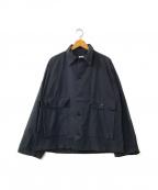 POST O'ALLS(ポストオーバーオールズ)の古着「コットンジャケット」|ネイビー
