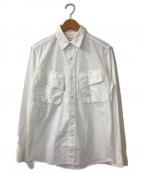 MOUNTAIN RESEARCH(マウンテンリサーチ)の古着「ファティーグポケットシャツ」 ホワイト