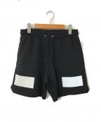 GIVENCHY()の古着「Contrast Print Shorts」|ブラック