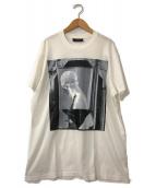 ()の古着「フォトプリントTシャツ」|ホワイト