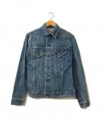 LEVI'S()の古着「[古着]ヴィンテージデニムジャケット」|ブルー