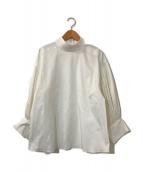 ()の古着「Dolman Sleeve Micro-pleat Top」|ホワイト