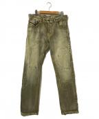 DIESEL Black Gold(ディーゼル ブラック ゴールド)の古着「Slim Fit  Jeans」|ベージュ