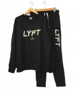 Lyft(リフト)の古着「スウェットセットアップ」|ブラック