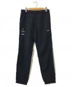 F.C.R.B.(エフシーアールビー)の古着「EASY LONG PANTS」 ブラック