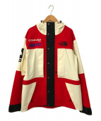 ()の古着「Expedition Jacket」|レッド×ホワイト