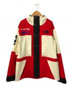 SUPREME×THE NORTH FACE(シュプリーム ×ザノースフェイス)の古着「Expedition Jacket」 レッド×ホワイト