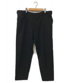 ()の古着「SNM-Blue2 Wide Straight Pants」|ブラック
