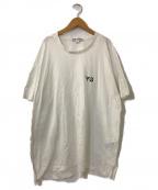 Y-3(ワイスリー)の古着「SIGNATURE S/S TEE」|ホワイト