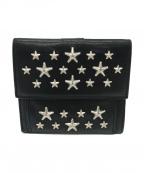 JIMMY CHOO(ジミーチュウ)の古着「2つ折り財布」|ブラック