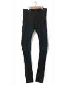 ()の古着「Knitted Ankle TYPE-2840 Jeans」|ブラック