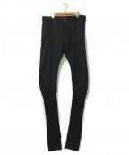DIESEL Black Gold(ディーゼル ブラック ゴールド)の古着「Knitted Ankle TYPE-2840 Jeans」|ブラック