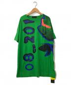 DIESEL Black Gold(ディーゼル ブラック ゴールド)の古着「Tigi-bloom T-shirt In Bianco」|グリーン