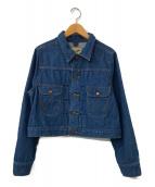 ()の古着「別注クロップドデニムジャケット」|インディゴ