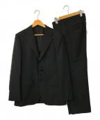 UNITED ARROWS()の古着「モヘヤトロピカルウール3Bレギュラー」 ブラック