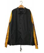()の古着「2Tone Tapes Jacket」|ブラック