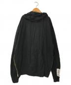 DANKE SCHON(ダンケ シェーン)の古着「Twill Hoodie」|ブラック