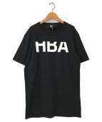()の古着「ロゴプリントオーバーサイズTシャツ」|ブラック