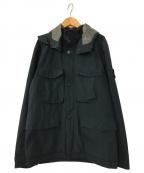 STONE ISLAND()の古着「ポーチパッカブルフードジャケット」|ブラック