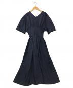 LE CIEL BLEU(ルシェルブルー)の古着「Classic Summer Dress」 ネイビー