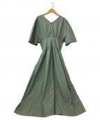 LE CIEL BLEU(ルシェルブルー)の古着「Classic Summer Dress」 グリーン