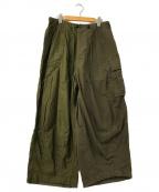 Needles()の古着「Militaly Combo HD Pants」|オリーブ×ブラウン