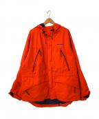 POLO SPORT(ポロスポーツ)の古着「[古着]フーデッドジャケット」 オレンジ